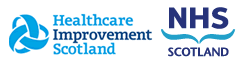 Health Improvement Scotland and NHS Scotland Logos
